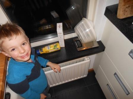 In de keuken / In the kitchen