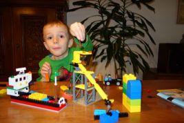 Met Lego / With Lego